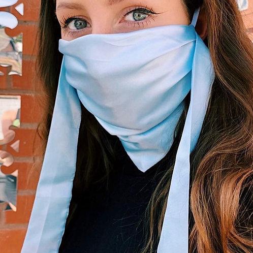Silk Bandana Face Mask