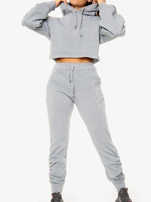 Ruched Loungewear Set