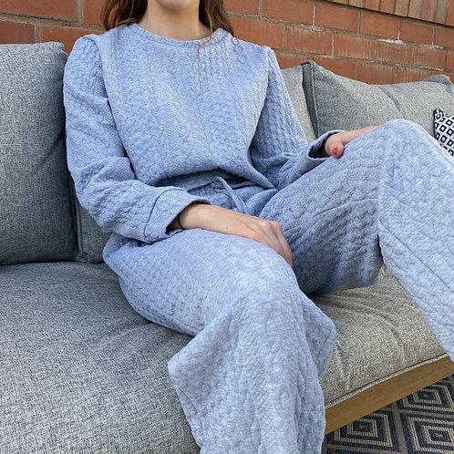 Comfy Grey Knot Lounge Set