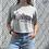 Thumbnail: New York Skyline Print Cropped T-Shirt