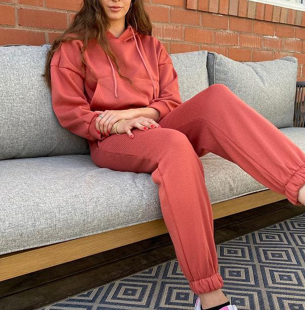 Red Loungewear Set