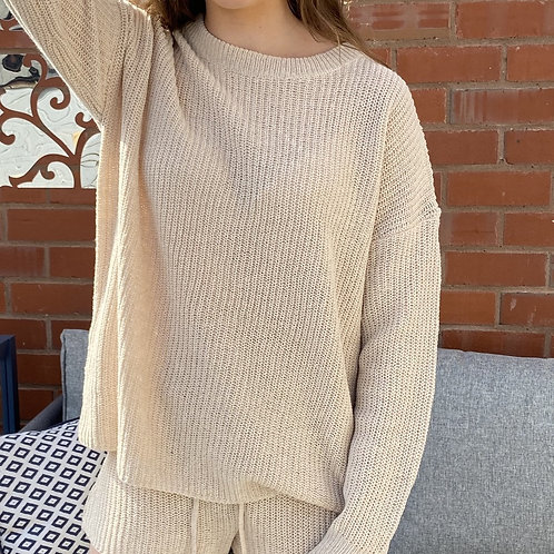 Stone Basic Knitted Jumper