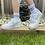 Thumbnail: Ladies 3 Pack Socks With Stripe