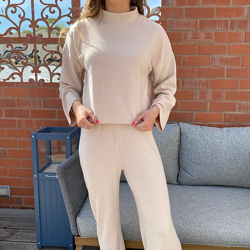 Soft Knit Jumper and Trouser Set