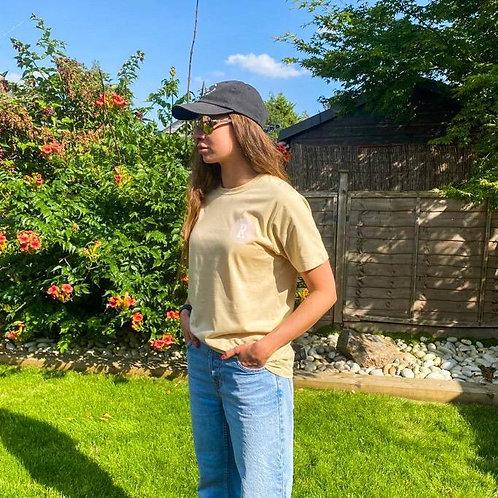 Organic  Beige T-Shirt