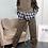 Check Print Layered Hooded Loungewear Set