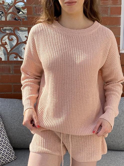 Blush Basic Knitted Jumper