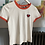 Thumbnail: Heart Patch Short Sleeve T-Shirt
