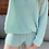 Thumbnail: Mint Basic Knitted Shorts
