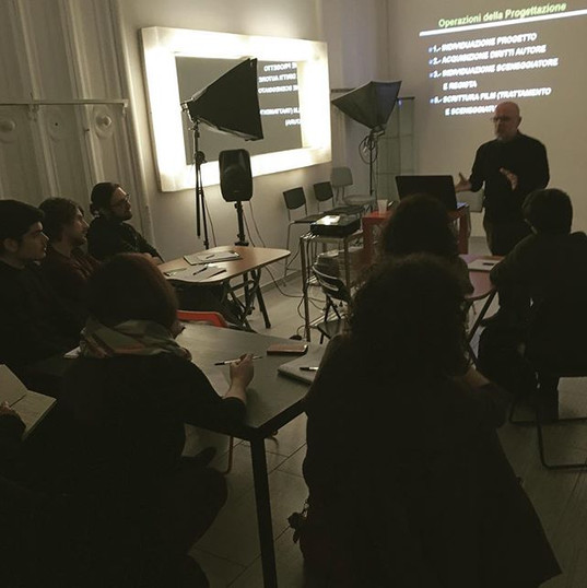 🎬È partito il Workshop Come si Produce un film