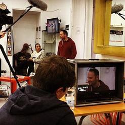 🎬 allievi on set 🎬 #napolifilmacademy