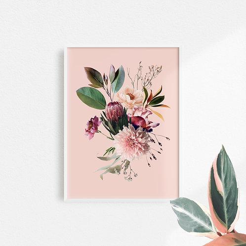 Collage Digital Rosa