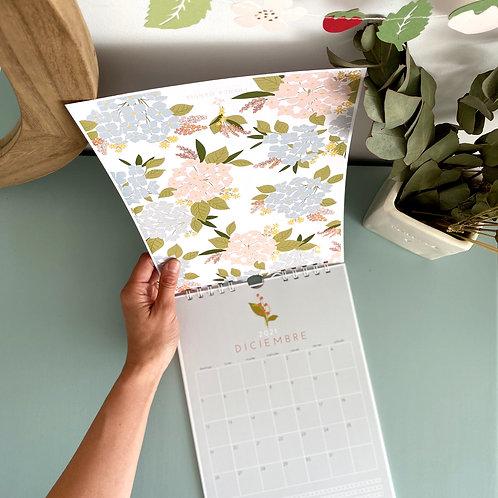 Calendario Floral A4 2021