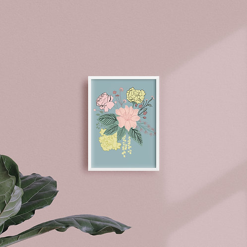 Print Bouquet Jungla