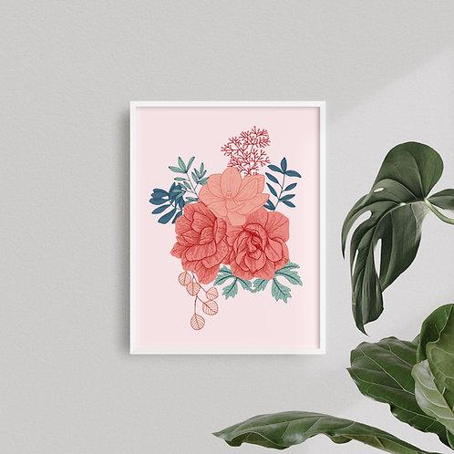 Print Jazmines Color