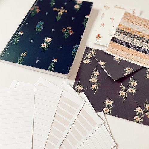 Cuaderno Marine + SET de Papelería