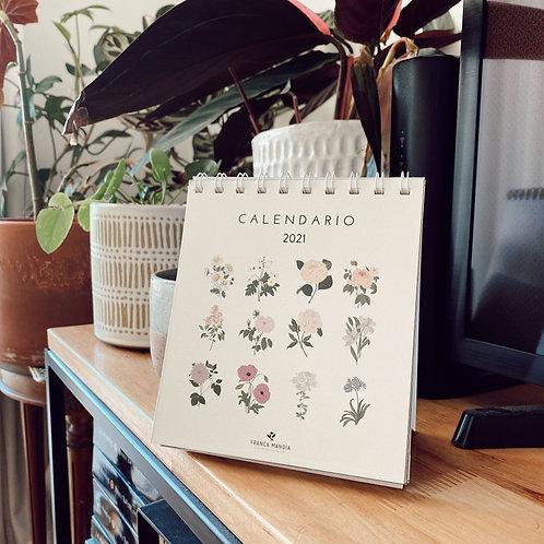Calendario Botánico de escritorio 2021 - PREVENTA