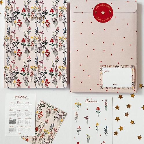 Cuaderno Flores Silvestres - NUEVO!