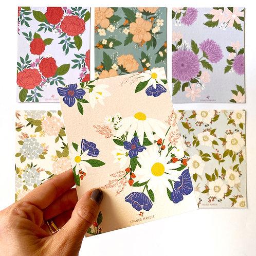 Postales Patterns