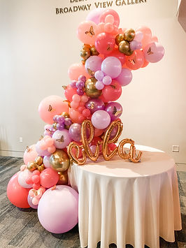 Custom Balloon Garland San Antonio TX