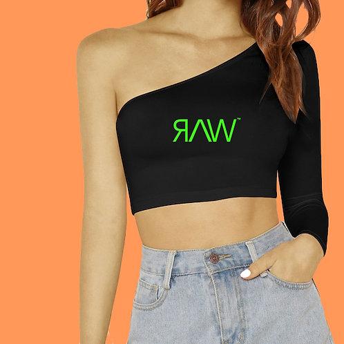 RAW™ One Shoulder Crop Top