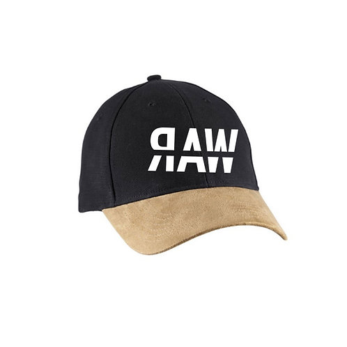 RAW Color Block Suede Hat
