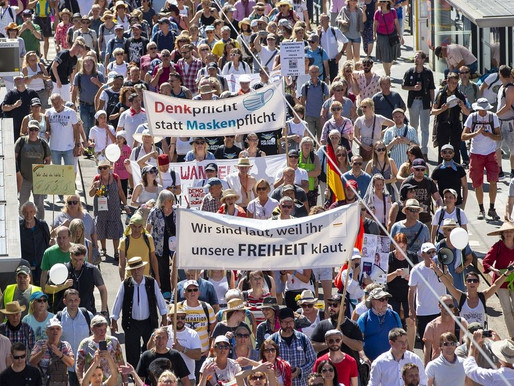 Thousands march in Berlin to protest against new COVID-19 measures