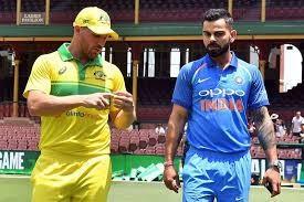 International cricket is back with Australia taking on India
