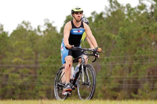 Athlete with Down syndrome creates history by completing the Ironman Triathlon