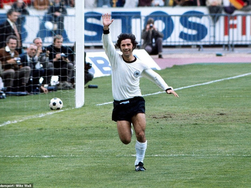 World Cup hero Gerd Muller slowly capitulating to dementia, joining a long list of legends