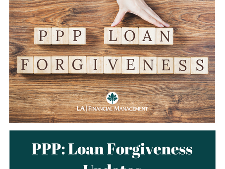 PPP: Loan Forgiveness Updates