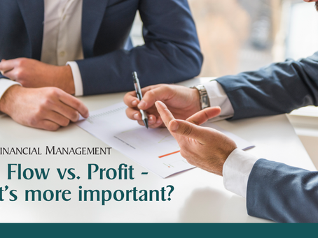 What's More Important? Profit or Cash Flow?