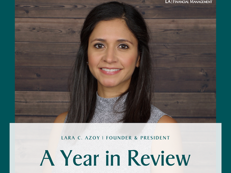 Lara C. Azoy, Founder & President: A Year in Review