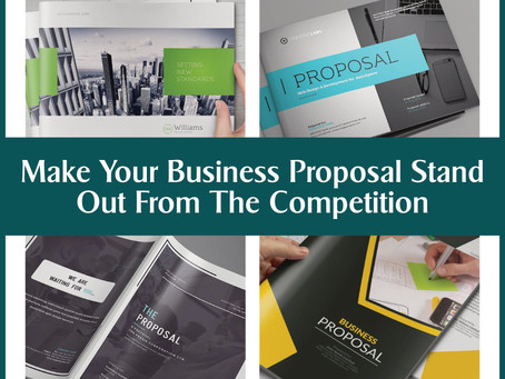 4 Ways To Make Your Business Proposal Stand Out