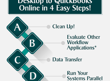 Transitioning From QuickBooks Desktop To QuickBooks Online In 4 Easy Steps!