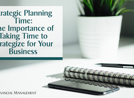 The Importance of Strategic Planning in your Business