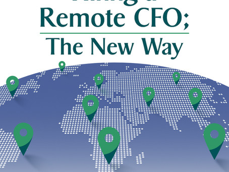Hiring A Remote CFO; The New Way