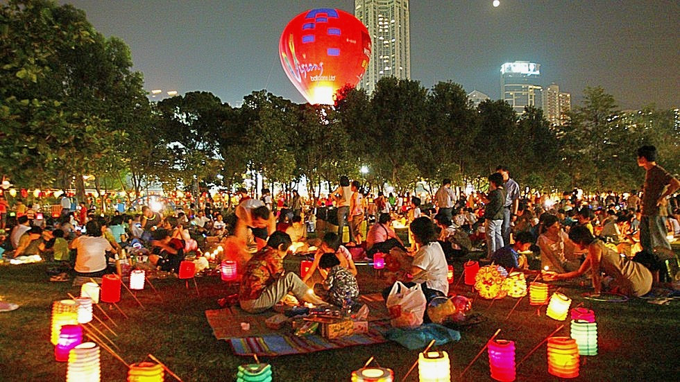 Mid Autumn Festival in HK