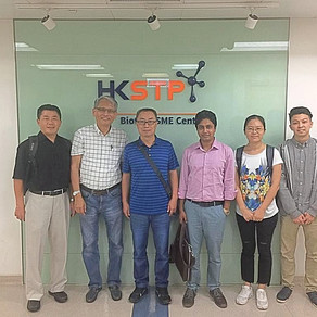 Visitors from the Guangzhou Institute of Energy Conversion (GIEC)