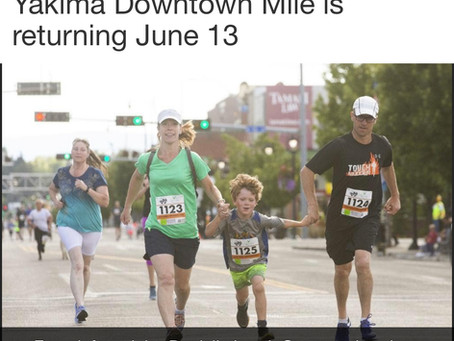 Yakima Downtown Mile is returning June 13