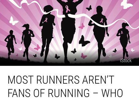 Most Runners Aren't Fans of Running-Who Knew!