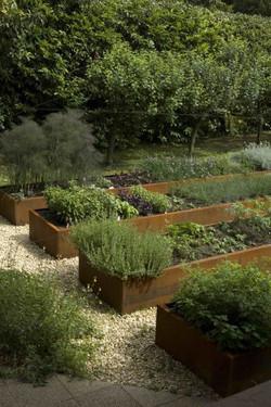 Vegetable garden raised beds - A movemen