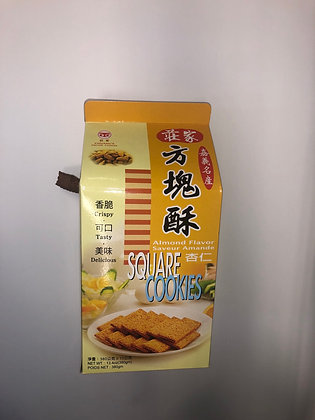 Chuang's Square Cookies (Almond Flavor) 莊家方塊酥 (杏仁味)