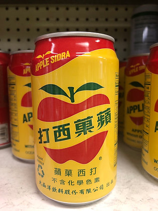 Apple Sidra Apple Soda 苹果苏打
