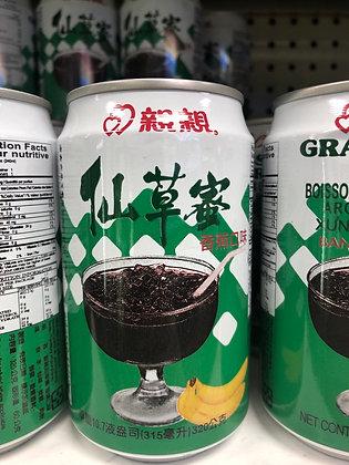 Chin-Chin Grass Jelly Drink Banana Flavor 亲亲仙草蜜 香蕉味
