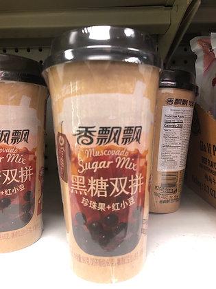 Muscovado Sugar Mix Milk Tea 香飘飘黑糖双拼奶茶