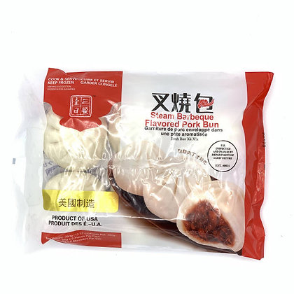 Steam Barbecue Flavored Pork Bun叉烧包