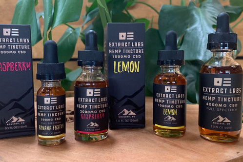 Extract Labs CBD Tincture (Assorted Flavors and Sizes)