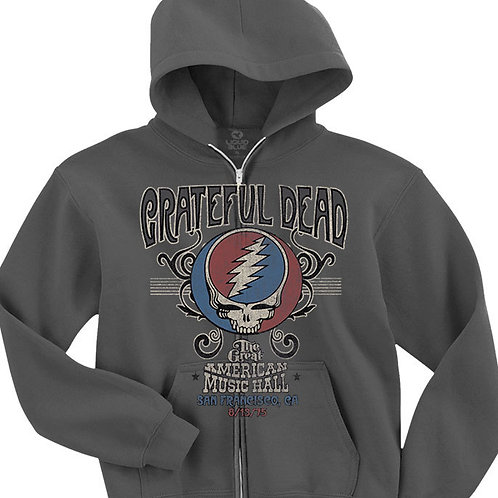 Grateful Dead American Music Hall Zipper Hoodie