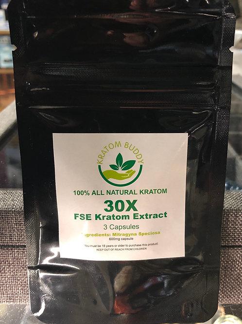 Kratom Buddy FSE Kratom Extract Capsules